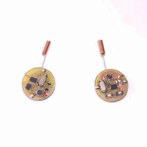 Spy bug transmitter with remote control
