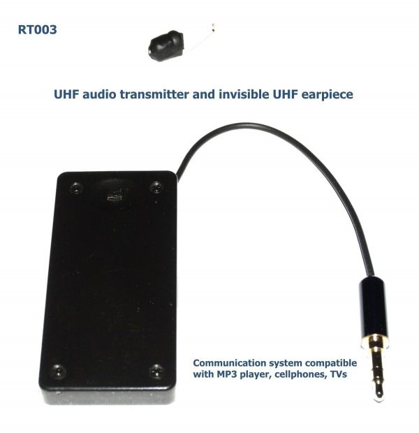 audio transmitter and spy earpiece
